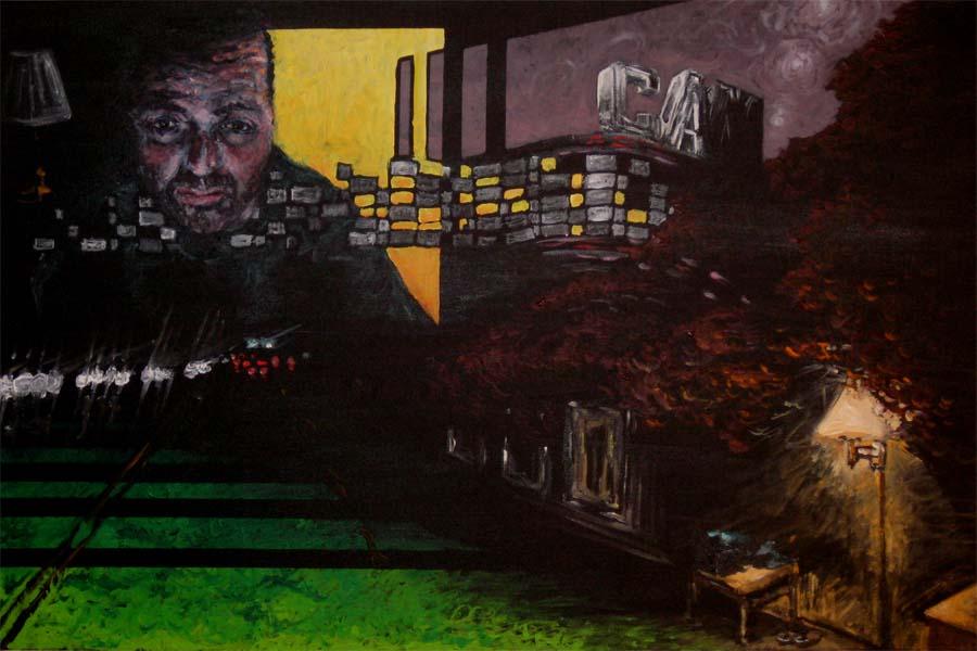 Pennsylvania 1- 24inx36in-Acrylic on canvas 2