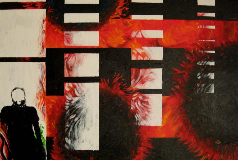 Pennsylvania 3- 24in x 36 in- Acrylic on canvas 2
