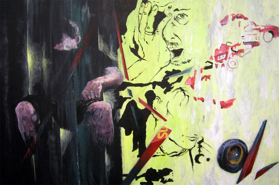 Maryland 3- 24inx36in- Acrylic on canvas