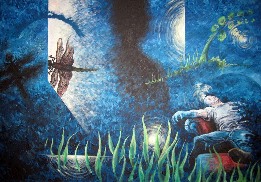 Pennsylvania 5- 24inx36in- Acrylic on canvas