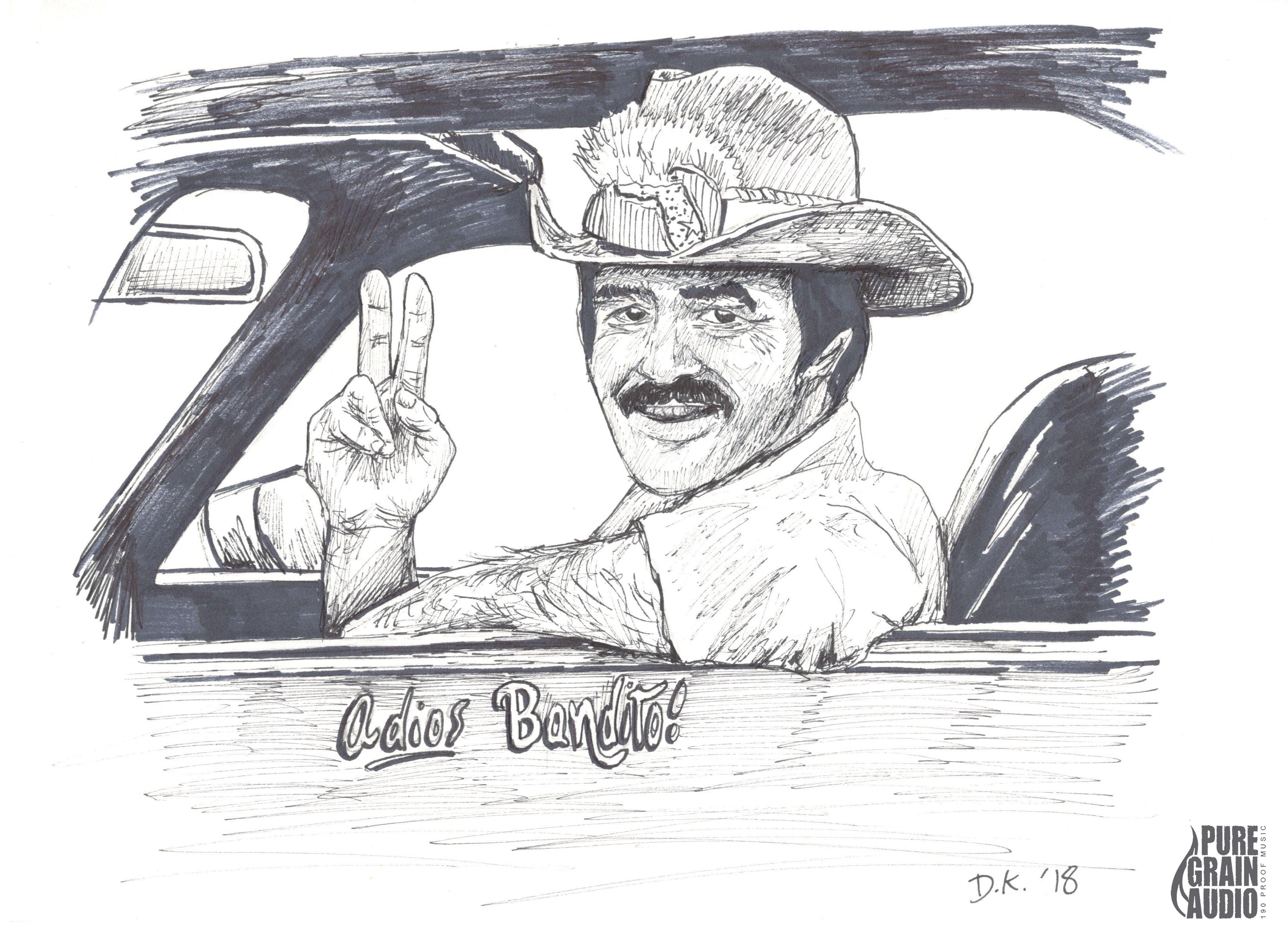 PENsive #11- Adios Bandito- featuring Burt Reynolds- HIGH RES