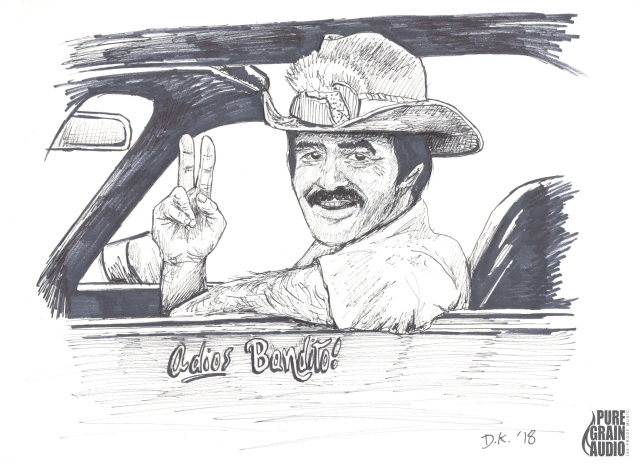PENsive #11- Adios Bandito- featuring Burt Reynolds- HIGH RES