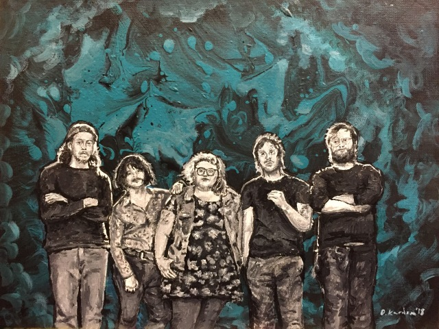 Sheer Mag Painting- 2018- by Damon Kardon