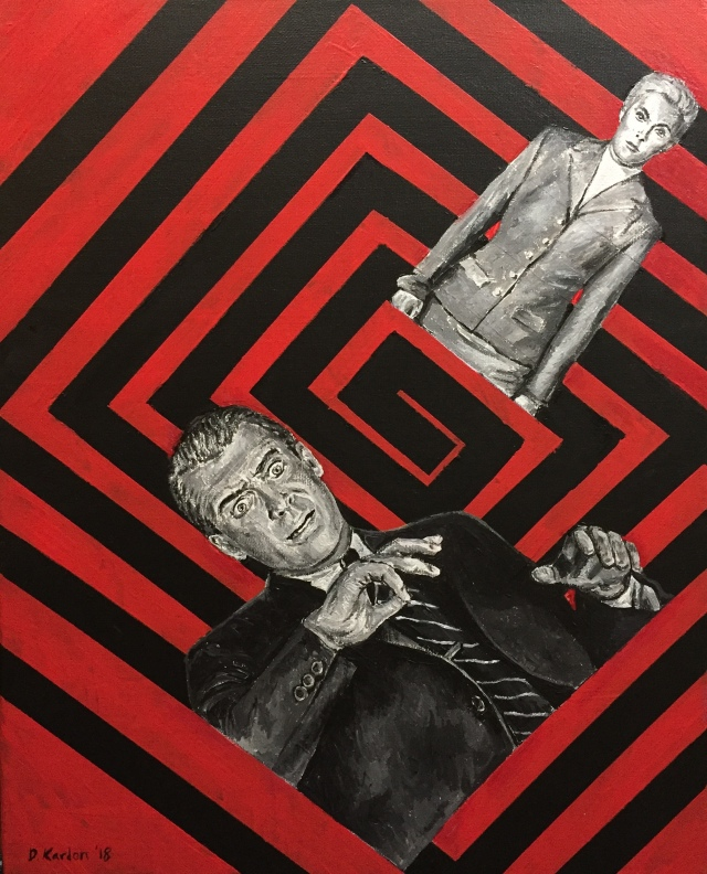 Vertigo- Painting by Damon Kardon- 2018